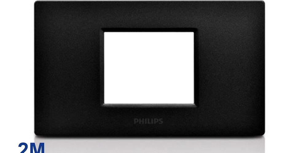 Philips หน้ากาก ฝา 2 ช่องติด