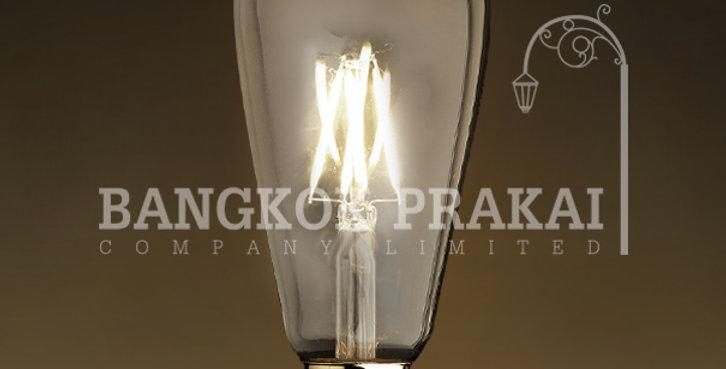 หลอดไฟวินเทจ เอดิสัน LED vintage แก้วใส ST64-LS2-755-4w ขั้ว E27