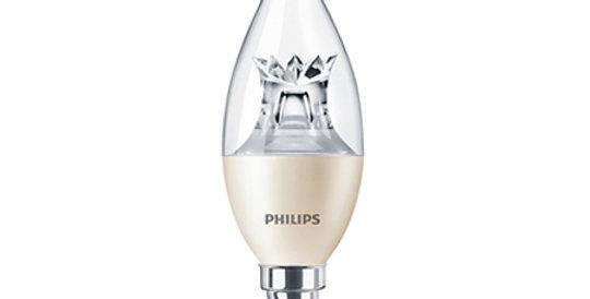 หลอดไฟ LED 4W ยี่ห้อ Philips รุ่น Master CandleDT BA35 CL ขั้ว E14