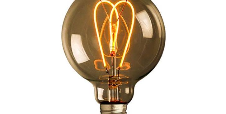 หลอดไฟวินเทจ เอดิสัน LED vintage G95-LW1-4w ขั้ว E27 ดิมได้