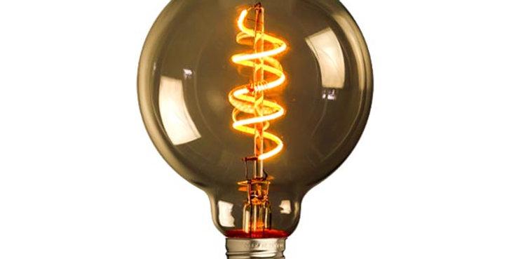 E27 LED vintage G95-LU1-4w
