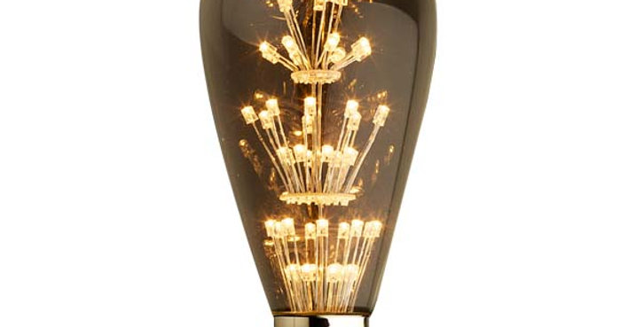 E27 LED vintage ST64-LD1-3w