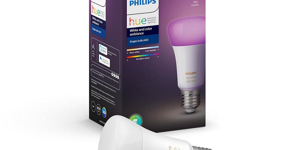 หลอดไฟเปลี่ยนสี แอลอีดี ฟิลิปส์ ฮิว Philip HueWCA 9W A60 E27 APR