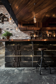 Donny's Bar in Sidney, voted one of best bar interiors 2014 | Australia