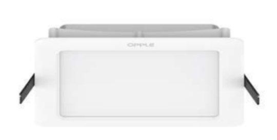 โคมไฟ LED Panel OPPLE รุ่น Ecomax II 8นิ้ว เหลี่ยม 18w ดาวน์ไลท์ฝังฝ้า