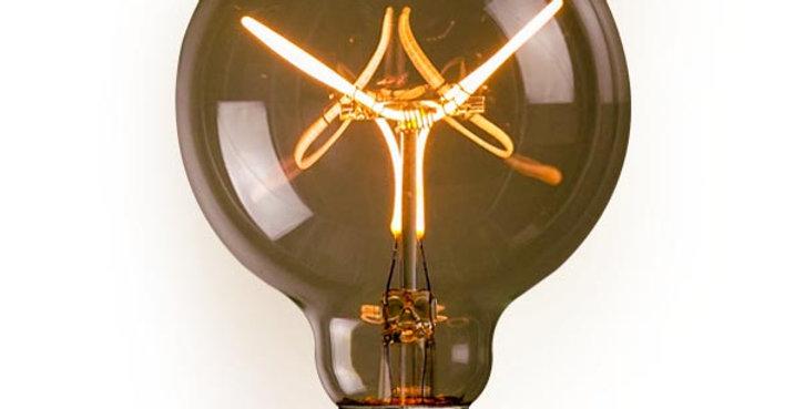 หลอดไฟวินเทจ เอดิสัน LED vintage G95-LB1-4w ขั้ว E27 ดิมได้