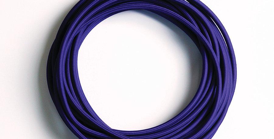 2C-PUR(สายไฟวินเทจบุผ้าสีม่วง)