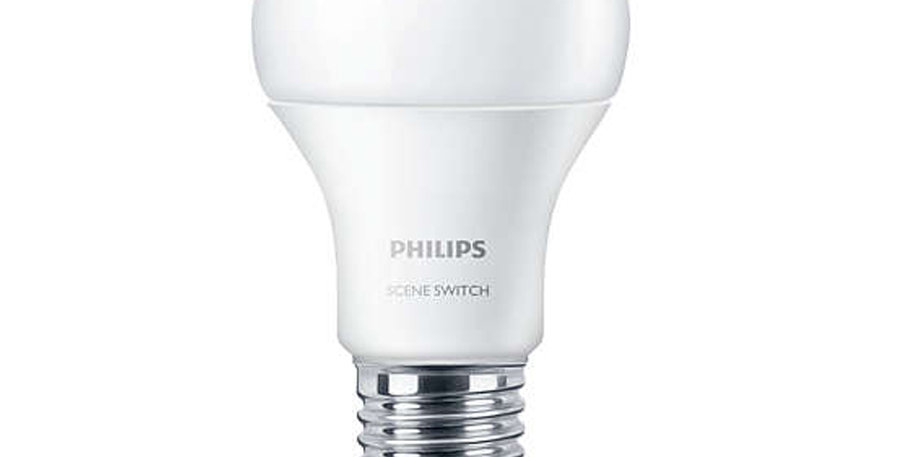 หลอดไฟ LED ยี่ห้อ Philips รุ่น Scene Switch Dim Tone 9ขั้ว E27
