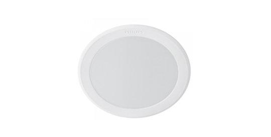 โคมไฟ LED Panel Philips 6w รุ่น Meson 594440803นิ้ว กลมดาวน์ไลท์ฝังฝ้า