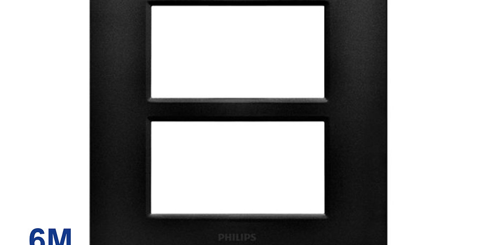 Philips หน้ากาก ฝา 6 ช่อง