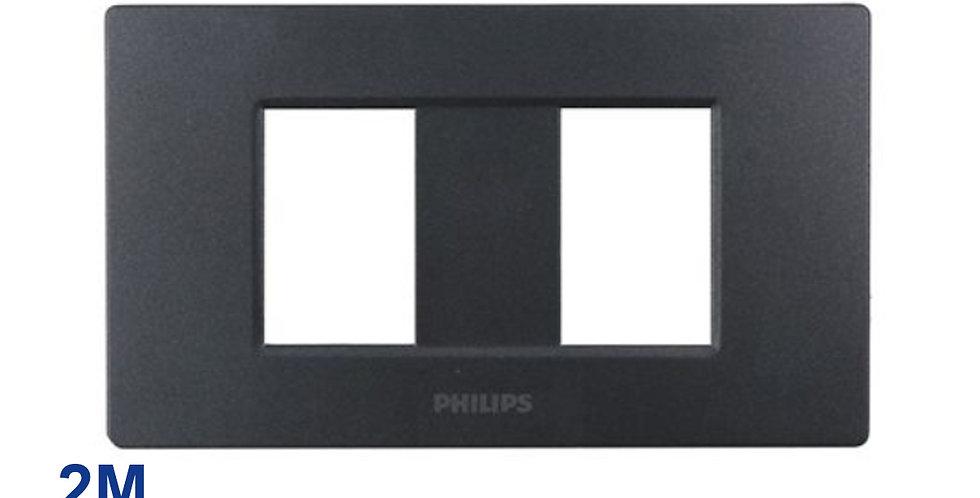 Philips หน้ากาก ฝา 2 ช่องแยก