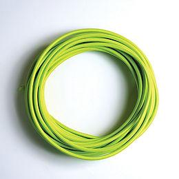 2C-LIME(สายไฟวินเทจบุผ้าสีเขียวอ่อน)