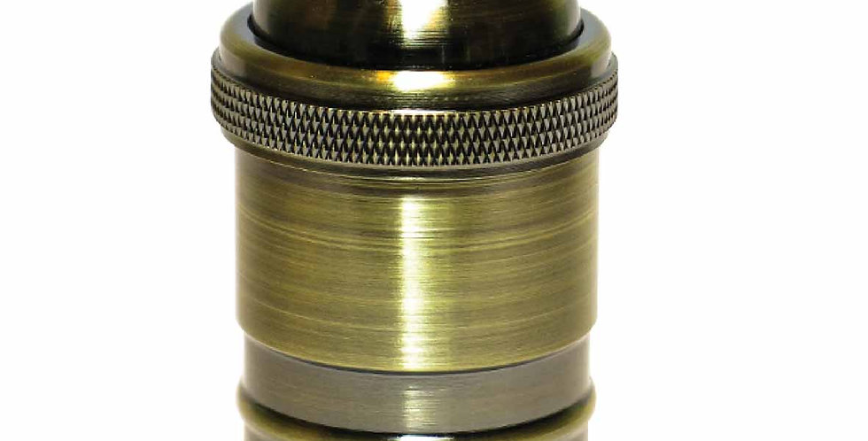 RB1-A  (สีantique)ทองเหลืองแท้ ไม่มีสวิทซ์
