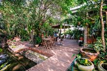Hidden Tree Garden , พักจิบกาแฟยามบ่าย ณ แม่กลอง