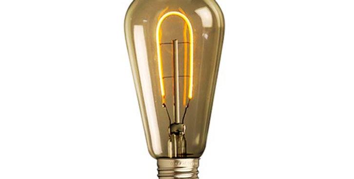 หลอดไฟวินเทจ เอดิสัน LED vintage ST64-LC1-3w ขั้ว E27 ดิมได้