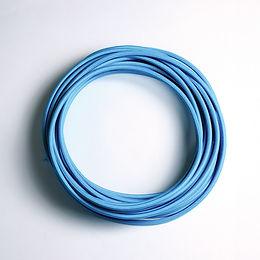 2C-BLUE(สายไฟวินเทจบุผ้าสีฟ้า)