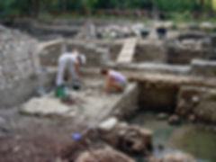 Archaeologists at work, Forum