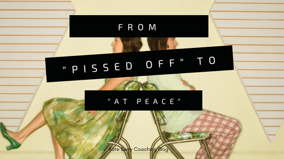 "From ""Pissed Off"" to ""At Peace"""