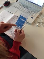 Paper prototype testing
