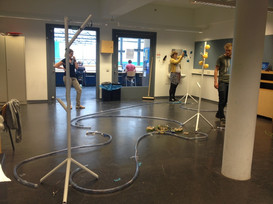 Building up installation
