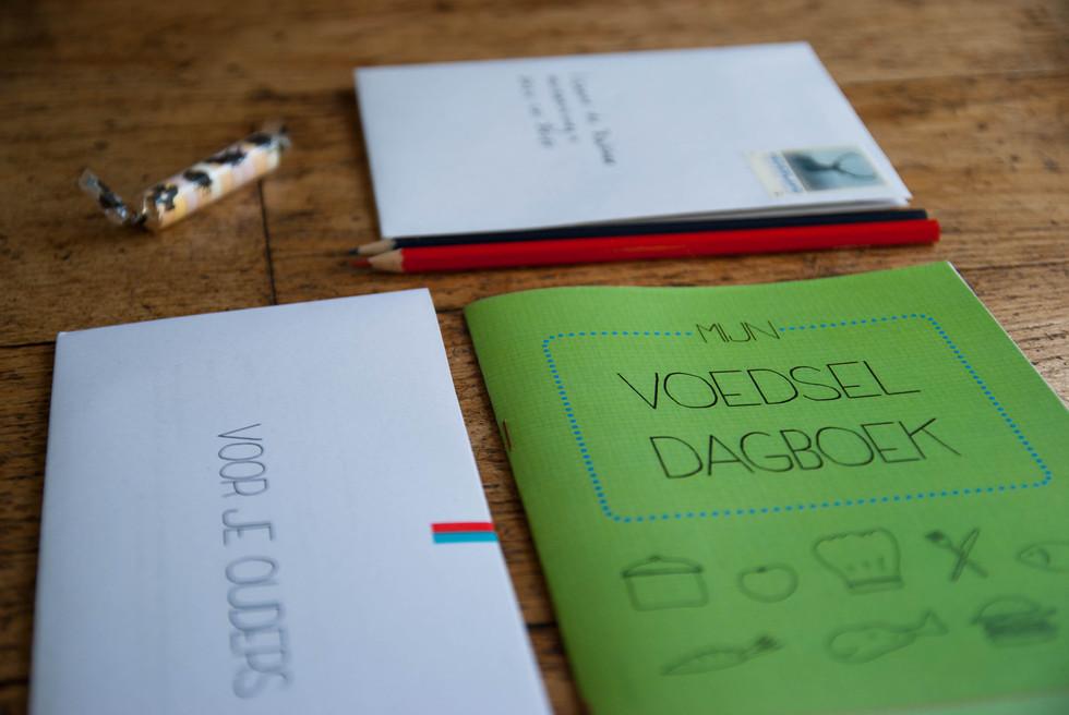 Sensitizing booklets