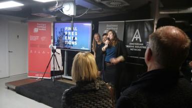 Presentation at Amsterdam Media Lab