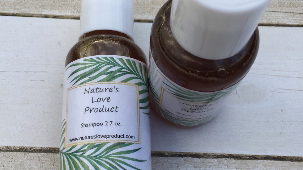Liquid Shampoo 2.7 oz