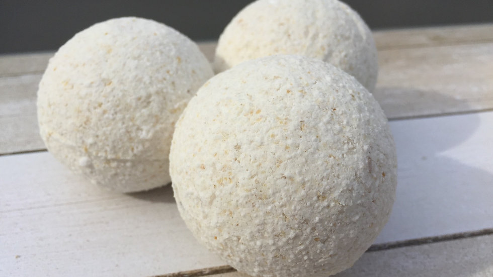 Colorless Surprise Bath Bombs - Set of 3