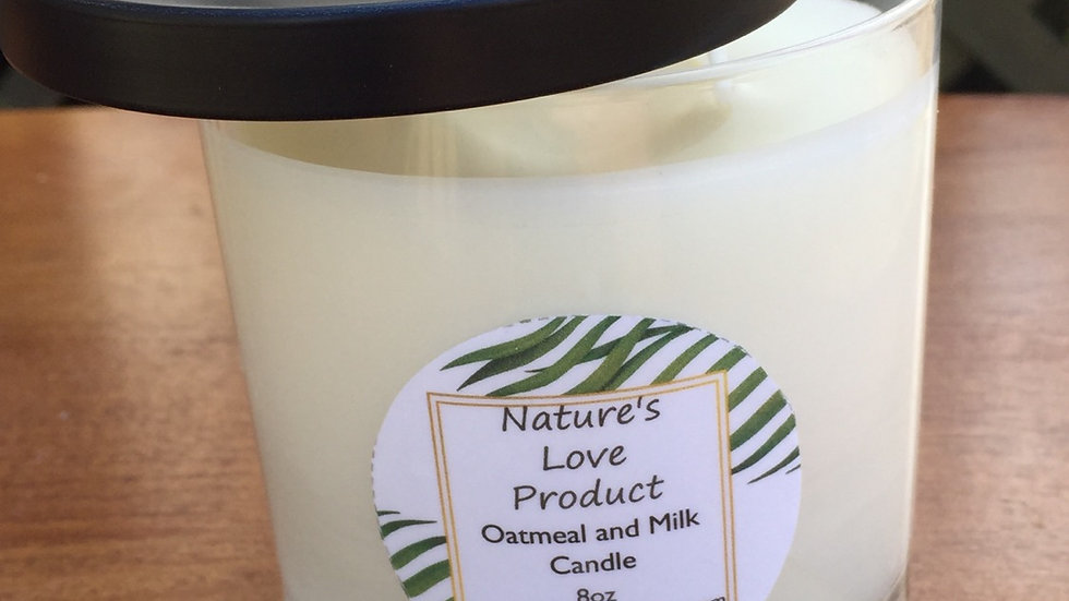 11oz Candle -100% soy and organic beeswax
