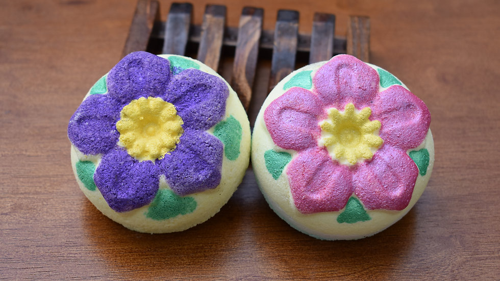 Surprise Flower Bath Bombs