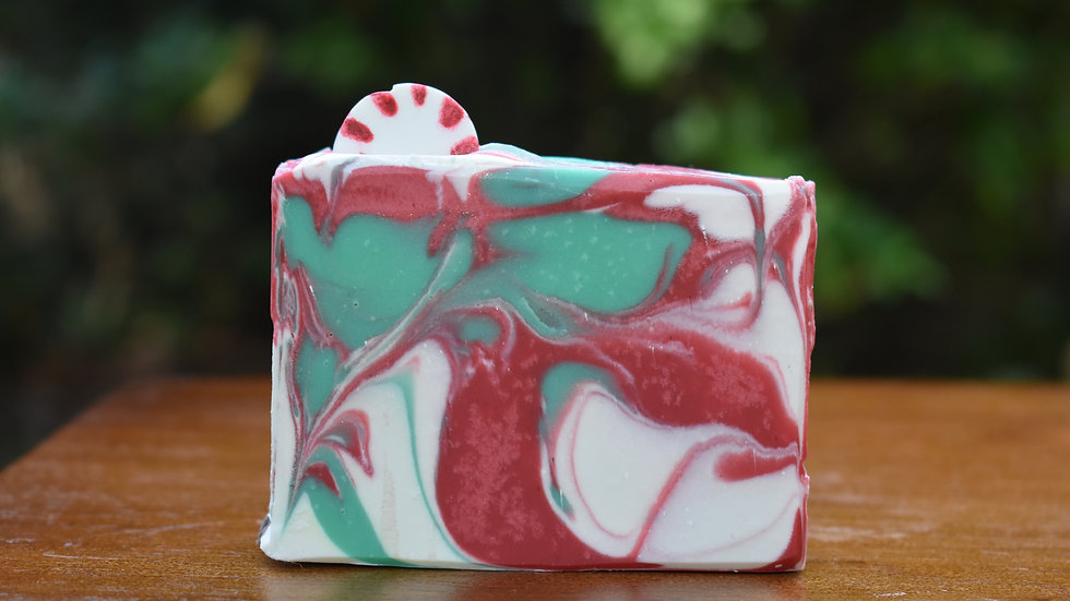 Peppermint Candy Cane Soap