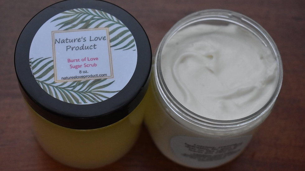 Whipped Lotion and Sugar Scrub Set
