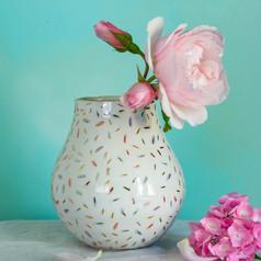sprinkles vase