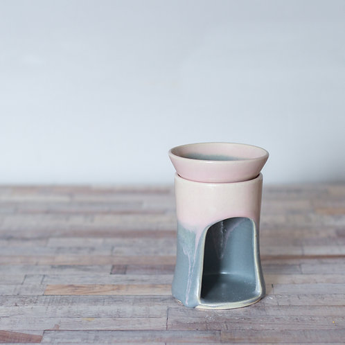 Pink and Grey Wax Burner