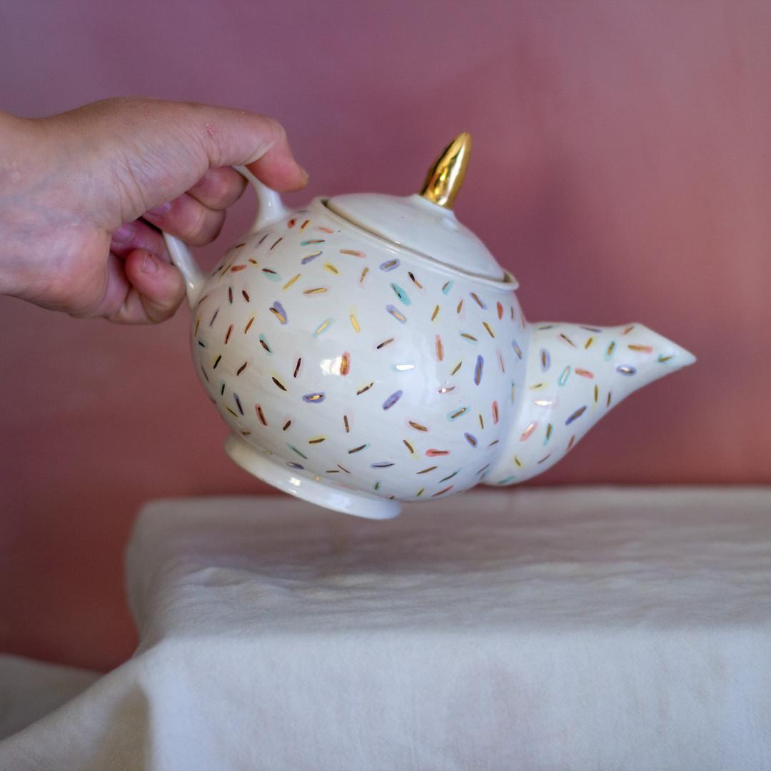 Sprinkles Teapot