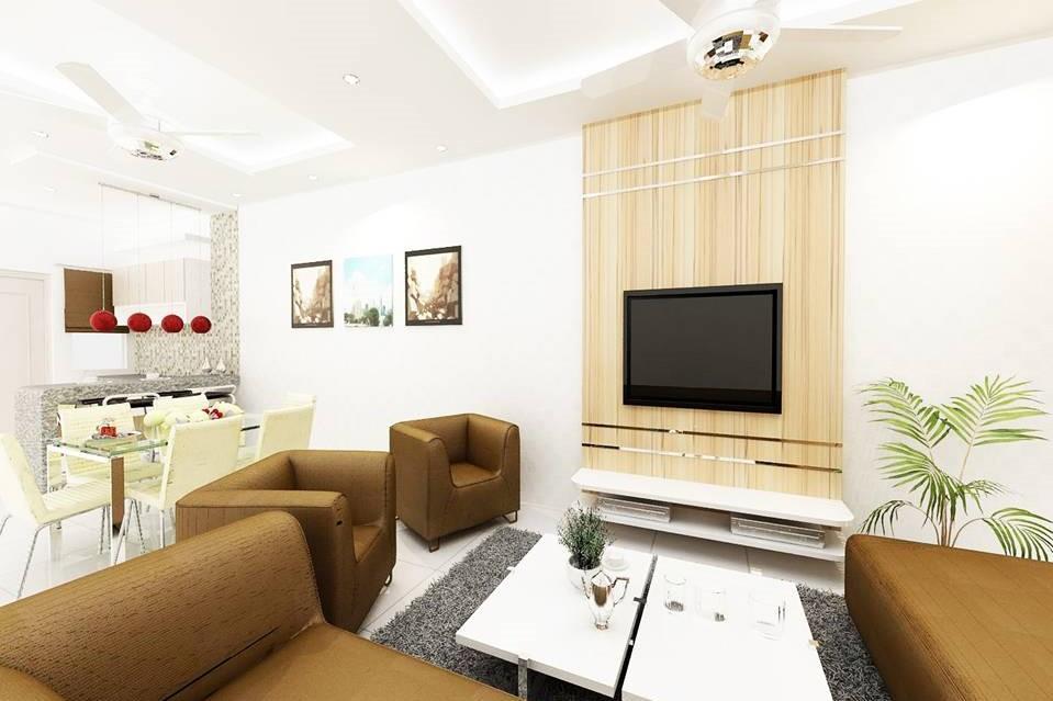 Terrace Type-K _ Tmn Daya - Living Area