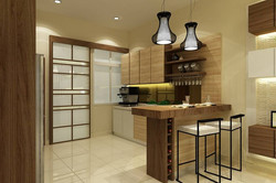 Terrace @ Impian Heights - Dry Kitchen