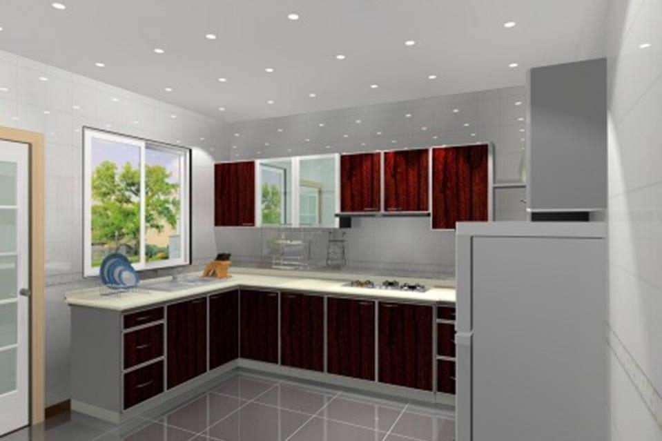 Bungalow _ Tmn Pelangi - Dry Kitchen