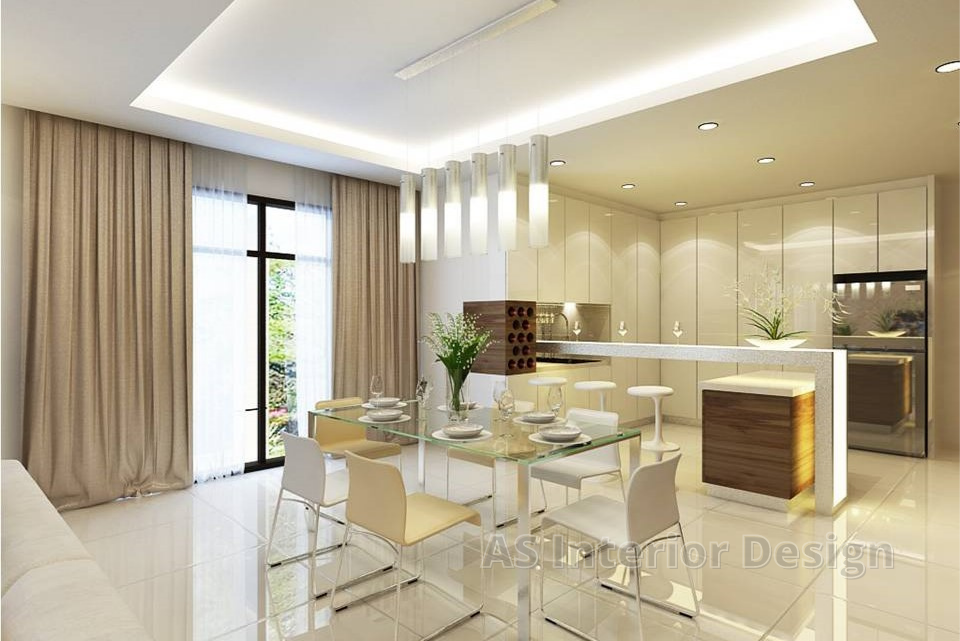 Cluster _ Adda Heights - Dining Area