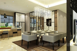 Modern Bungalow Design - Dining Area