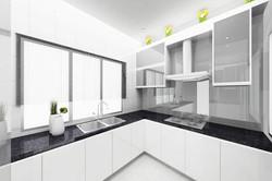 Terrace _ Ponderosa - Wet Kitchen