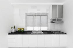 Bright and Modern Terrace Design - Kitchen