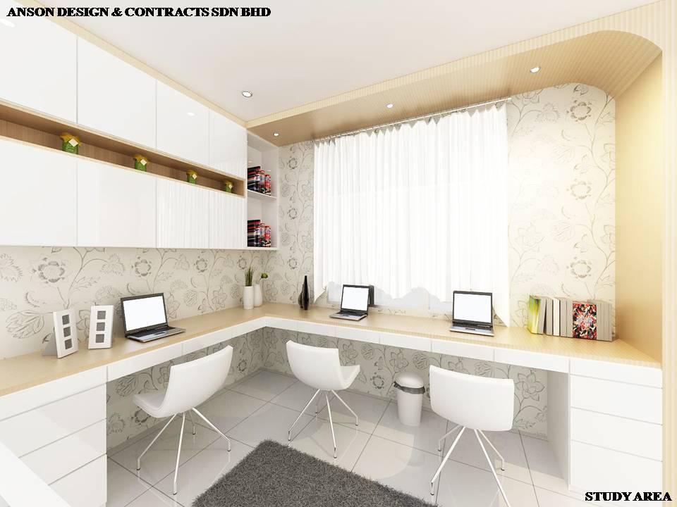 AS Interior Design - Study Area