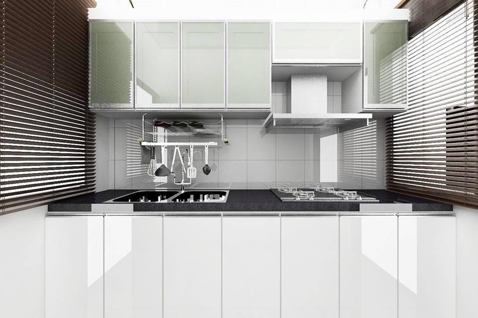 Terrace Type-K _ Tmn Daya - Wet Kitchen