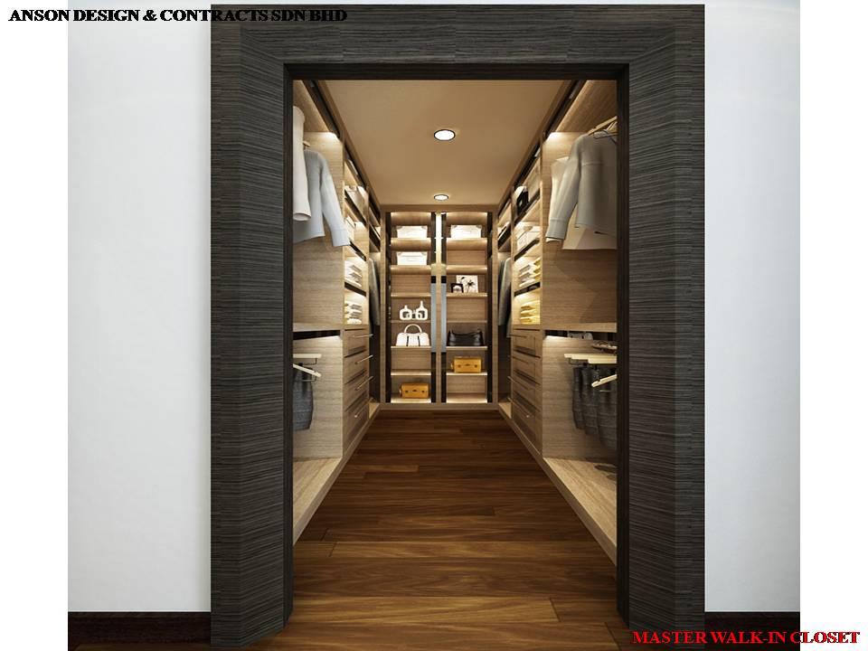 AS Interior Design - Master Bedroom Walk-in Closet