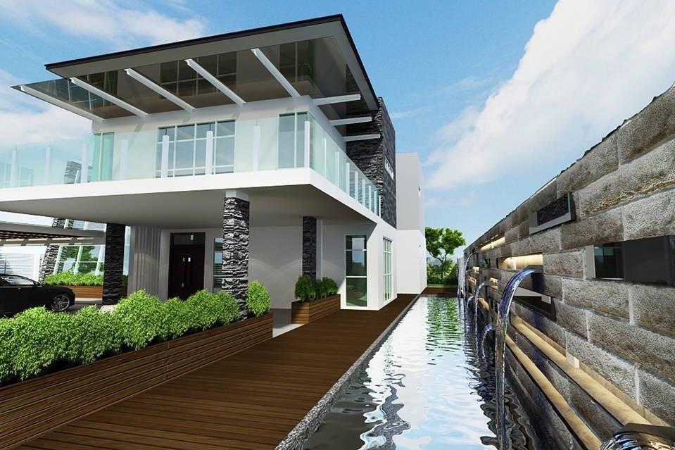 Modern Bungalow Design - Balcony