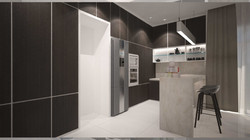 AS Interior Design - Dry Kitchen & Bar