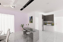 Bright and Modern Terrace Design - Dining Area