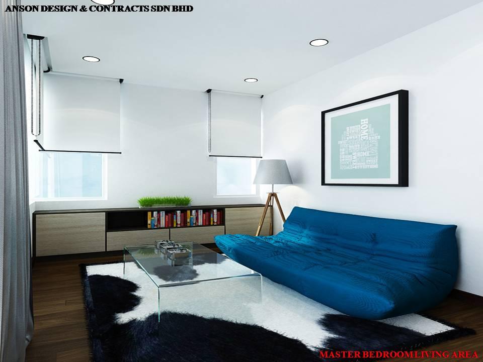 AS Interior Design - Master Bedroom Sofa Area