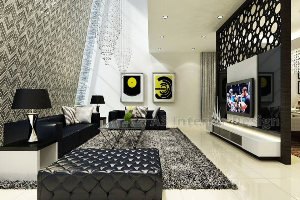 Modern Bungalow Design - Living Hall